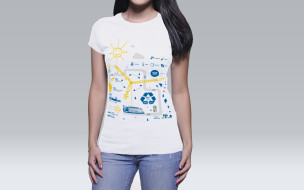 DinoSmrekar-Swedish-Embassy-Infographic-Innovation-Sustainability-Equality-T-Shirt-Woman